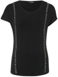 T-Shirt mit Perlen-Applikation