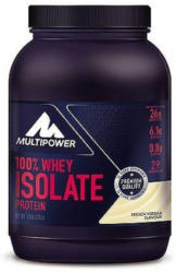 MULTIPOWER Proteinpulver 100% Whey Isolate Protein 725g French Vanilla