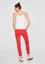 s.Oliver RED LABEL Shape Ankle: Jeans mit Fransen