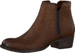 Chelsea Boots in Schlangenleder-Optik