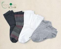 GREEN FEELING BIO Damen-Socken, Doppelpkg.