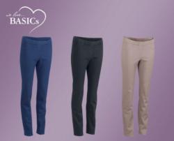 WE LOVE BASICS Damen-Hose