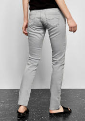 Q/S designed by Catie Slim: Graue Stretchjeans