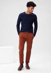 s.Oliver RED LABEL Sneck Slim: Samtige Stoff-Chino