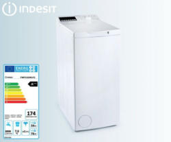 INDESIT Waschmaschine Toplader