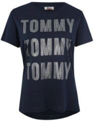 Shirt mit Label-Print