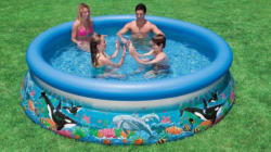 Intex Pool, Ø 305 cm, bunt, »Ocean Reef Easy Set-Pool«