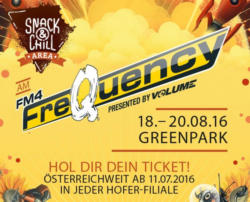 """3-Tages-Pass (inkl. Warm Up Party """"preQuency"""" am 17.08.2016)"""