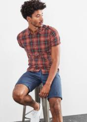 Q/S designed by Extra Slim: Checked Hemd