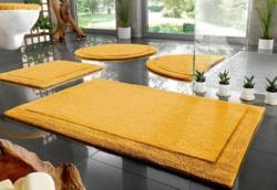 Badematte, Halbrund, Home Affaire Collection, »Kapra«, beidseitig verwendbar, Bio Baumwolle