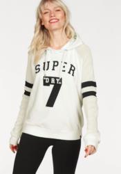 Superdry Sweatshirt »COLLEGE CROP HOOD«