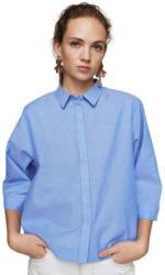 MANGO Crop-Bluse aus Baumwolle