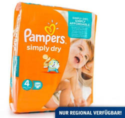 PAMPERS Windeln Simply Dry Maxi