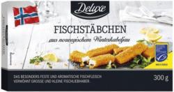 DELUXE Winterkabeljau-Fischstäbchen