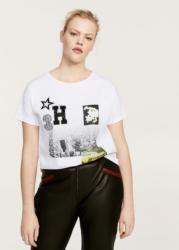 VIOLETA by Mango Bedrucktes Baumwoll-T-Shirt