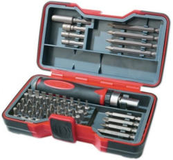 POWERFIX®PROFI + ratchet bit set, 53 pieces