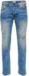 ´Weft med blue´ Regular fit Jeans