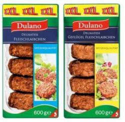 DULANO Fleischlaibchen 500 g + 100 g gratis