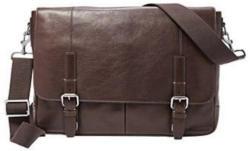 Fossil Messenger Bag »GRAHAM« aus Leder