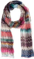 CODELLO Seiden-Schal mit Regenbogen-Muster