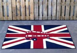 Design-Teppich, Hanse Home, »Union Jack Bus«, modern, gewebt, Motiv-Druck