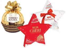 FERRERO Pralinen in weihnachtlicher Geschenkverpackung