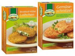 BAUERNLAND Gemüse-Laibchen oder Schnitzel