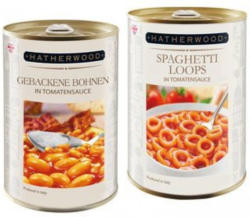 HATHERWOOD Gebackene Bohnen/Spaghetti Loops