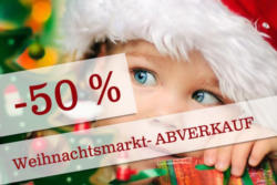 -50% auf Weihnachtsschmuck, Weihnachtsdekoartikel, Kerzen und Bänder