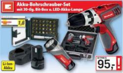Akku-Bohrschrauber-Set RT-CD 10,8 LI KIT