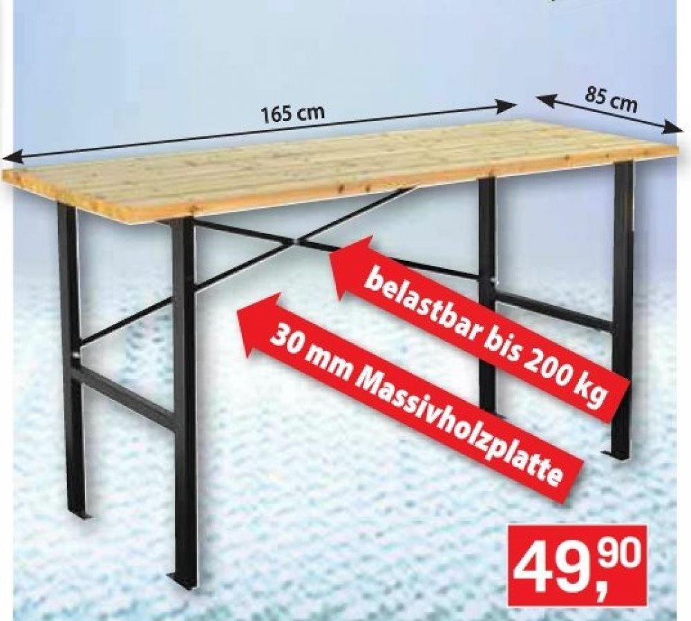 Werkbank nur € 49,90 - BAUHAUS Wien 14. - Angebot ...