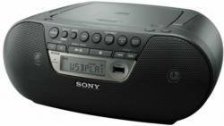 Sony ZS-PS30CPB Black USB Boombox