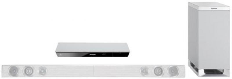 PANASONIC SC-BTT230EGS silber 2.1 Blu-ray Heimkinosystem, 3D-fähig