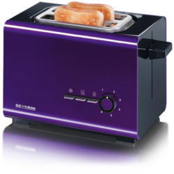 Severin AT2508 lila-schwarz Toaster