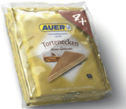 Auer Baumstämme, Tortenecken Original, Sacher oder Wiener Apfelstrudel
