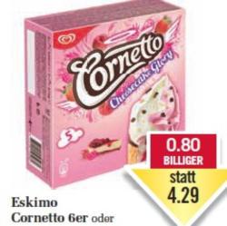 Eskimo Cornetto 6er oder Cheesecake Glory 5er