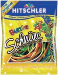 Hitschler Hitschies, Mini Hitschies sauer oder Bunte Schnüre