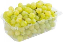 Fruchtige Trauben weiß