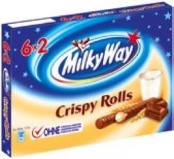 Balisto, Bounty oder Milky Way Crispy Rolls