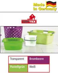Waschmittelbox/-schüssel/Wäschewanne Ergonomic