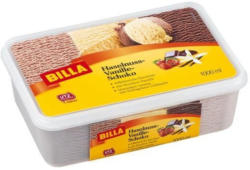 BILLA Haselnuss-Vanille-Schokolade Eis