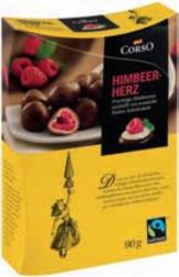 BILLA Corso Himbeer-Herz, Kirsch-Perle Erdbeer-Tau oder Haselnuss-Juwel