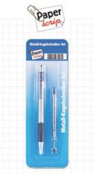 Metall-Kugelschreiber-Set