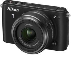 Nikon 1 S1 Schwarz Kit + 11-27,5mm Systemkamera (VVA191K005)