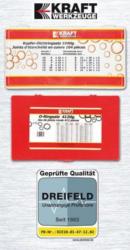 O-Ringsatz oder Kupfer-Dichtringsatz