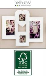 Holz-Bilderrahmen Collage