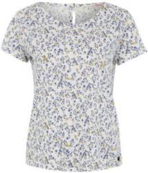 Printshirt mit Knopfleiste am Rücken