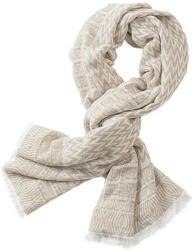 Betty&Co Schal mit Fransen und harmonischem Muster