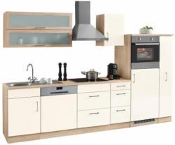 HELD MÖBEL Küchenzeile »Dallas« mit E-Geräten, Breite 300 cm