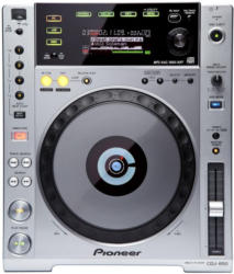 Pioneer CDJ-850 CD-Turntable Silber